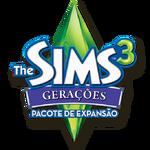 Logo The Sims 3 Gerações.png