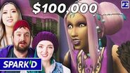 Pro Sims Players Build Supernatural Stories For $100k • Spark'd Ep