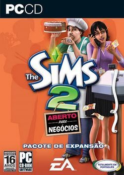 Capa The Sims 2 Aberto para Negócios.jpg