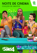 The Sims 4 Noite de Cinema Capa
