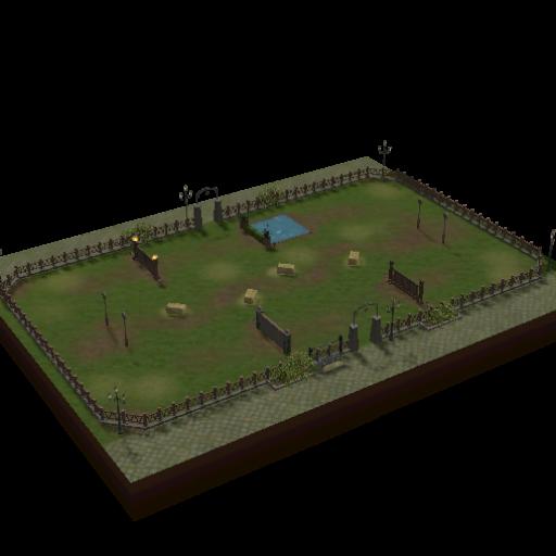 Campo de Treinamento de Pôneis Bombadinho