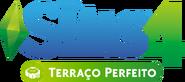 Logo The Sims 4 Terraço Perfeito (Primeira Versão)