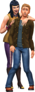 The Sims 4 Vampiros (Render 10)