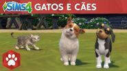 The Sims 4 Gatos e Cães Trailer Oficial de Lançamento-0