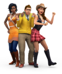 The Sims 4 Render 22