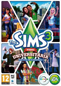 Packshot The Sims 3 Vida Universitária.jpg
