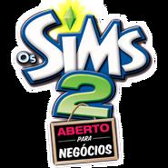 Logo Os Sims 2 Aberto para Negócios