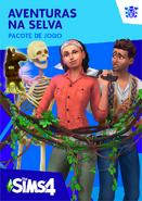 Capa The Sims 4 Aventuras na Selva