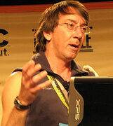 Will Wright em palestra