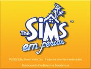 The Sims - Em Férias (Tela de Carregamento)