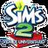 Logo The Sims 2 Vida de Universitário.png