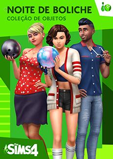 Capa The Sims 4 Noite de Boliche.png