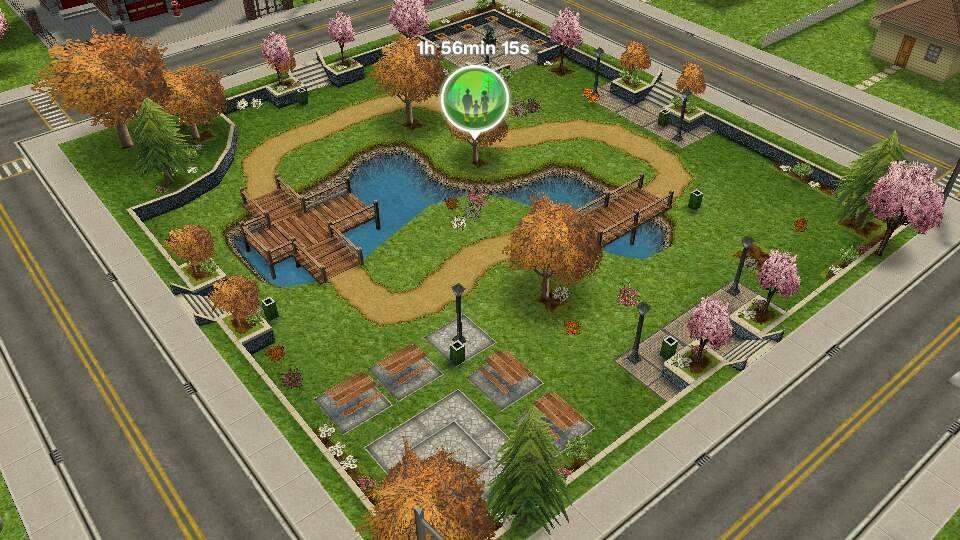 Parque (The Sims JogueGrátis)