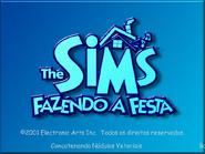 The Sims - Fazendo a Festa (Tela de Carregamento)