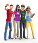The Sims 4 Render 13