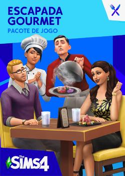 Capa The Sims 4 Escapada Gourmet.png