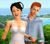 Daniel e Maria José em Maré Radiante
