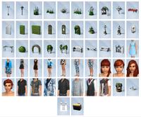 The Sims 4 - Jardim Romântico - Itens (1)