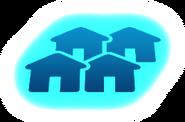 Ícone tela de carregamento vizinhança