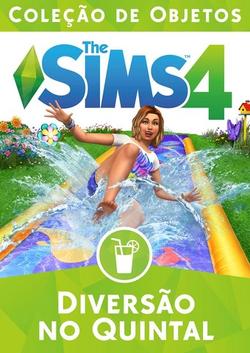 Capa The Sims 4 Diversão no Quintal (Primeira Versão).png