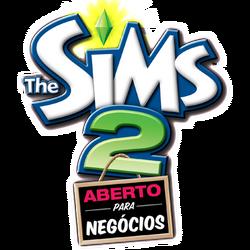 Logo The Sims 2 Aberto para Negócios.png