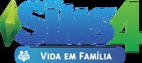 Logo The Sims 4 Vida em Família (Primeira Versão)