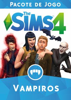 Capa The Sims 4 Vampiros (Primeira Versão).png