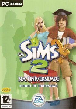 Capa Os Sims 2 Na Universidade.jpg