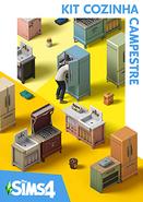 Capa The Sims 4 Cozinha Campestre