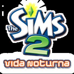 Logo The Sims 2 Vida Noturna.png