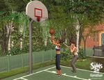 Sims praticando Esportes