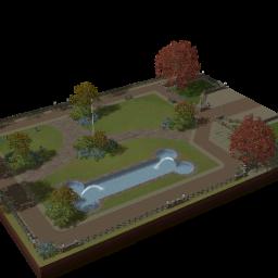 Parque de cães
