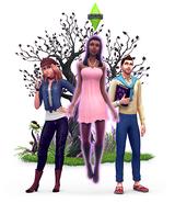 The Sims 4 Vampiros (Render 3)