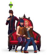 The Sims 4 Vampiros (Render 6)