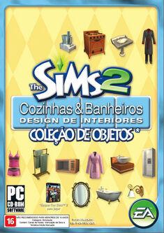 Capa The Sims 2 Cozinhas & Banheiros Design de Interiores.jpg