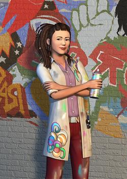 Render The Sims 3 Vida Universitária 05.png