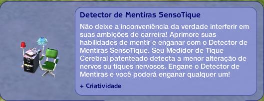 Detector de Mentiras SensoTique