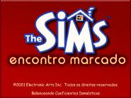 The Sims - Encontro Marcado (Tela de Carregamento)