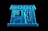 Ícone tela de carregamento distrito comercial