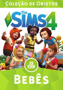 Capa The Sims 4 Bebês (Primeira Versão).png