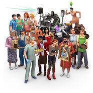 The Sims 4 Render Aniversário