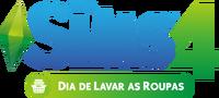 Logo The Sims 4 Dia de Lavar as Roupas (Primeira Versão)