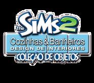 Logo The Sims 2 Cozinhas & Banheiros Design de Interiores