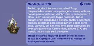 Mandachuva 57X (descrição)