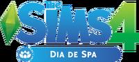 Logo The Sims 4 Dia de Spa (Primeira Versão)