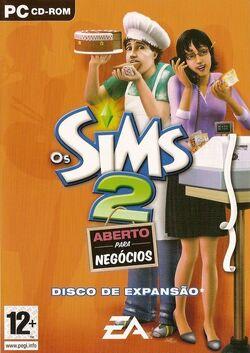 Capa Os Sims 2 Aberto para Negócios.jpg