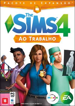 Capa The Sims 4 Ao Trabalho (Primeira Versão).png