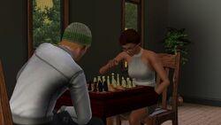 Jogando Xadrez Sims3.jpg