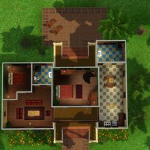 Casa Humilde (Isla Paradiso), segundo andar.jpg