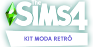 The Sims 4 - Moda Retrô (Logo)